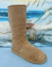 UGG Womens brown suede winter  boot Size 5  S/N5272 Fair Condition