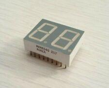 2 Pcs Qt Man6540 7 Segment Green Led Display 1 X 34 Common Cathode