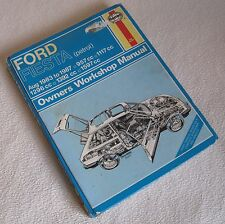 1983-1987 FORD FIESTA HAYNES OWNERS WORKSHOP MANUAL 83 87 work shop