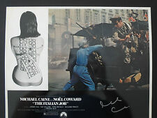 SIR MICHAEL CAINE Signed 14x11 Photo THE ITALIAN JOB & ZULU COA