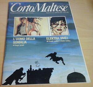 CORTO MALTESE n.2 anno X 1992 hugo pratt miller varley elektra francesco rubino