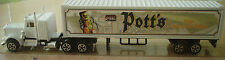Pott´s Naturpark-Brauerei - Truck-Nr.06 - Kenworth W9000 SZ, Majorette- weiss-