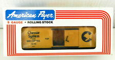 AMERICAN FLYER/Lionel S Scale #6-48303 Chessie System Boxcar Yellow ~NIB~  T136