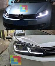 VW GOLF 6 VI 2008-2012 FARI ANTERIORI FANALI DIURNA FRECCIA DINAMICA LOOK 7.5