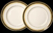 """2x WEDGWOOD INDIA 7 inch PLATES 18cm 7"""" DIAMETER NEW BEST QUALITY G1 RARE SIZE"""
