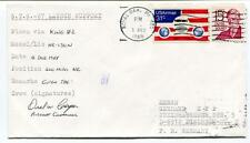 1988 STS-27 Launch Support Royal Oak Mi USAirmail Crew Signature SIGNED NASA USA
