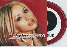 CHRISTINA AGUILERA - Come on over baby CD SINGLE 2TR EU CARDSLEEVE 2000