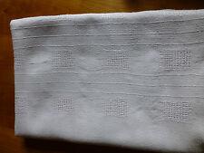 Alte Leinentischdecke, handgewebt Leinen ca 190x133, Schwere Qualität, ca 800 gr