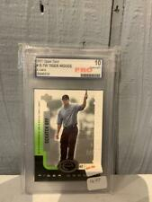 PRO Graded Gem Mint 10 Tiger Woods Golf Card 2001 Upper Deck E-Card NICE!