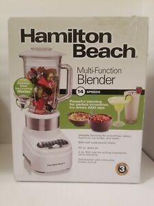💥NEW💥Hamilton Beach 54221 Ice Crusher Multi-Function Blender - White/Silver