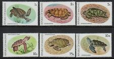Maldive Is 1980 Turtle Conservation set fine fresh MNH