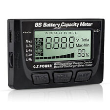 Battery Accumulator Capacity Voltage Digital Checker Lithium NiMH Nicd Tester