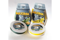 Maxima Braid / Green or Yellow / All Sizes / Fishing Line 150m Full Range