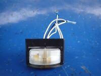 Truck Lite License Plate Kit Genuine 15729-G 12V Bulb Kit Wiring Kit