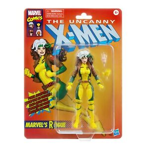 Marvel Legends Vintage / Retro Collection X-Men Rogue figure, in stock RARE