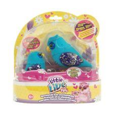 Little Live Pets madre e bambino BABY PARLANTI GUFO ALI DEL CUORE FAMIGLIA - Blu