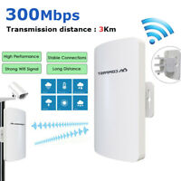 COMFAST Waterproof Outdoor CPE 2.4G 300Mbps Wireless Access Point WiFi Repeater