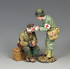 "DD292 King & Country ""The Shannon Set"" Nurse Shannon Reuss with Wounded GI WWII"