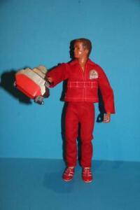 6 Six million Dollar man Doll figure Steve Austin complete with Engine block ++