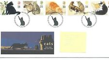 Cats British First Day Covers