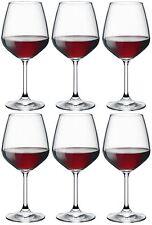 Bormioli Rocco Divino Red Wine Drinking Glasses - Set Of 6 - 530ml (18oz)