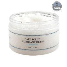 Vivo Per Lei Body Salt Scrub, Exfoliant with Dead Sea Minerals (2 Pack)