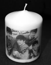 The Beatles Candle with message Creative Valentine or Birthday any occasion CG4