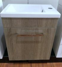 SALE! DESIGNER 400mm BATHROOM WALL HUNG VANITY BASIN & CABINET