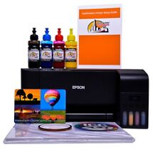 Sublimation printer A4 starter bundle package non oem Epson L3110 Ecotank