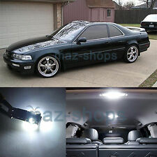 White 13 Pieces Interior Lights Package LED Bulbs Fit Acura Legend Coupe 91-95