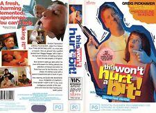 THIS WON'T HURT A BIT! - VHS - PAL - NEW - Never played! - Original Oz release