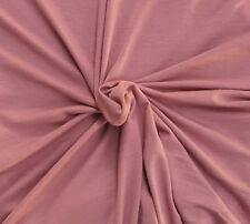 Mauve Bamboo Spandex Jersey Knit Fabric by the Yard 4 Way Stretch KH191