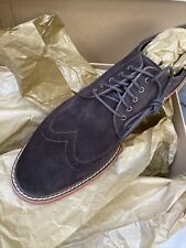Cole Haan Franklin Wing II T Moro Suede Size 8.5 M