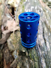 NEW Ruger 10/22 compensator in BLUE .920 Bull Target barrels