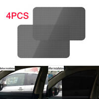 4X 63×42cm Car Window Sun Shade Cover Washable Reusable for Automotive Truck SUV