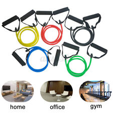 New listing Fitness Resistance Band Rope Elastic Abs Strength Exercise Yoga Pilates Tube  A