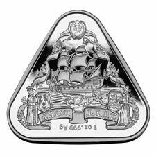 2020 Australia Australian Shipwreck Zuytdorp Triangular 1 oz Silver $1 Coin Bu