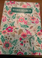 Floral wordsearch book A5 110 puzzles + solutions at the back