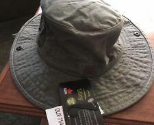 NEW Tilley Wanderer T3 Hat Olive UPF 50+ Snap Brim   Water Repellent Size 7 7ff7237368ca