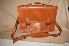 LEVENGER   Leather Messenger Bag Briefcase With Shoulder strap