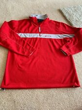 Mans Size L Mans dare 2 be Grey/red Fleece Pre Owned