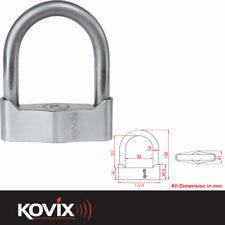 KOVIX 88MM X 102MM ACCIAIO MOTO MOTOCICLETTA MOTO SCOOTER antifurto sicurezza