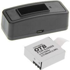 Ladegerät + Akku Typ Qumox SJ4000 Batterie Ladestation Accu Battery Ersatzakku