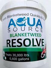 Aqua Source Blanketweed Resolve.Free P&P Fast Acting Blanket Weed Treatment.1kg