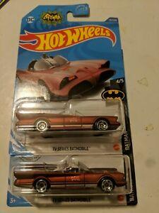 Hot Wheels 2020 Batmobile Maroon Kroger Exclusive 197/250 (Lot of 2)
