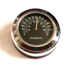 British Made Interceptor & Continental Stem Nut Cover & Black Thermometer