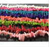 Beautiful 8 Colors Natural Coral Gemstone Chip Loose Beads 15'' Strand AA