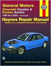 HAYNES REPAIR MANUAL 38016 CHEVROLET CAVALIER & PONTIAC SUNFIRE '95-'05