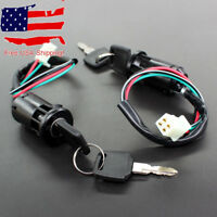 ATV Key Ignition switch 4-wire 50cc 70cc 90cc 110cc 125cc 150cc 200cc