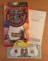 Fun House Mystery Adventures Of Mary-Kate & Ashley TESTED VHS Olsen Twins Promos